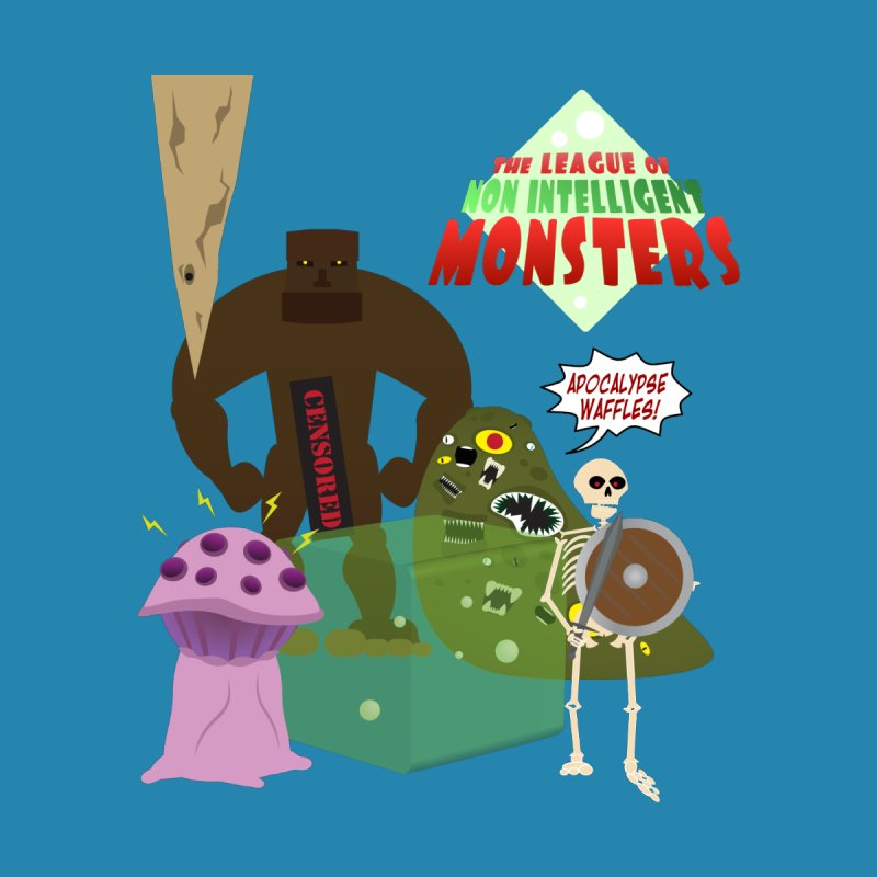 The League of Non Intelligent Monsters by enemyagency's Artist Shop