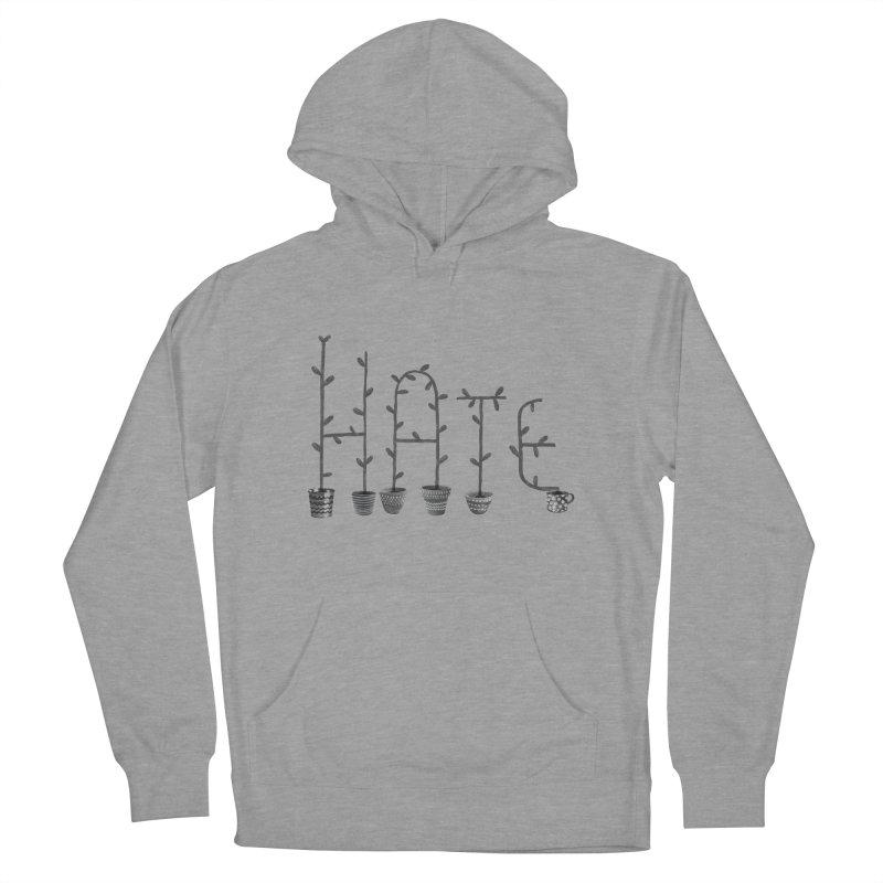 hate Men's Pullover Hoody by enginoztekin's Artist Shop