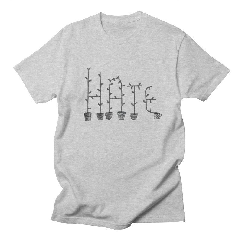 hate Men's T-Shirt by enginoztekin's Artist Shop