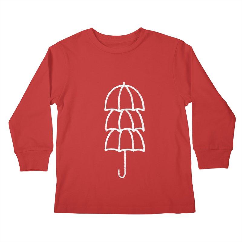 umbrellas Kids Longsleeve T-Shirt by enginoztekin's Artist Shop