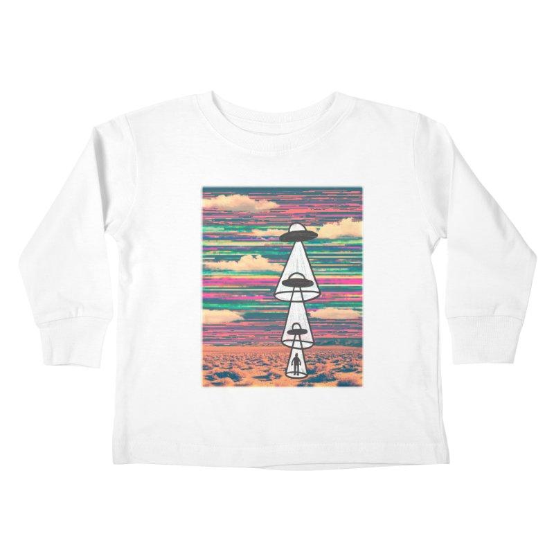 food chain Kids Toddler Longsleeve T-Shirt by enginoztekin's Artist Shop