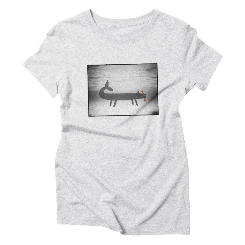 good boy Women's Triblend T-Shirt by enginoztekin's Artist Shop