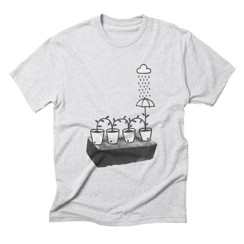 pots Men's Triblend T-Shirt by enginoztekin's Artist Shop