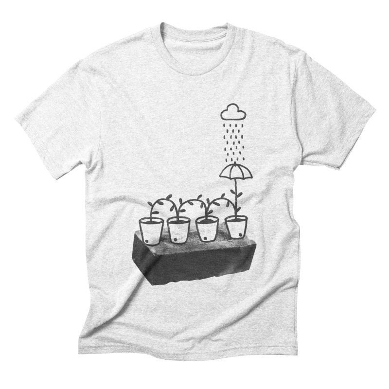 pots Men's Triblend T-shirt by enginoztekin's Artist Shop