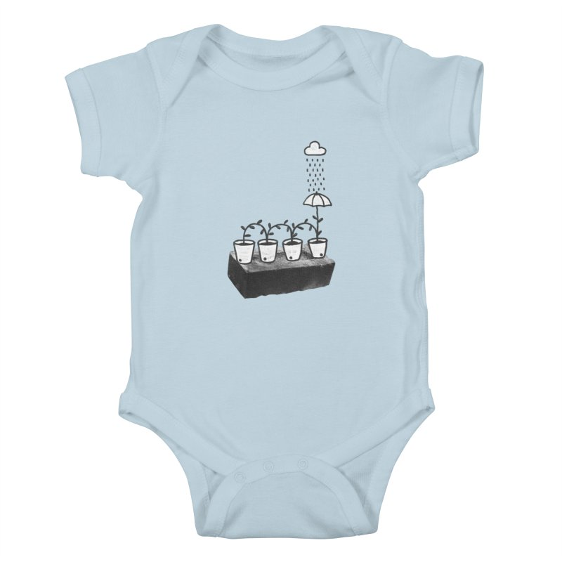 pots Kids Baby Bodysuit by enginoztekin's Artist Shop