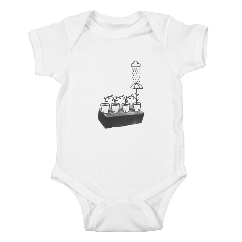 pots Kids Baby Bodysuit by enginoztekin's Artist Shop