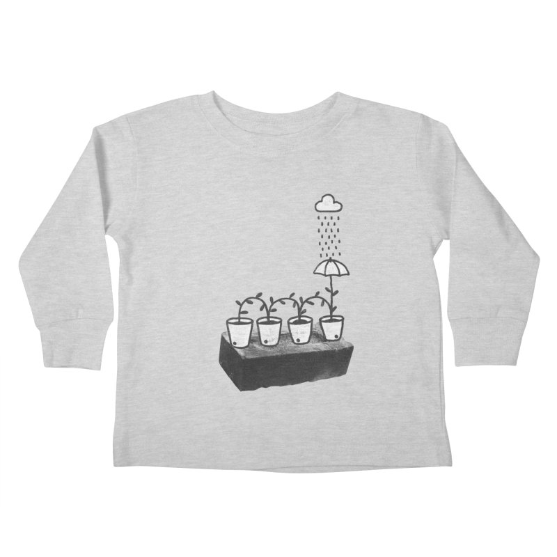 pots Kids Toddler Longsleeve T-Shirt by enginoztekin's Artist Shop