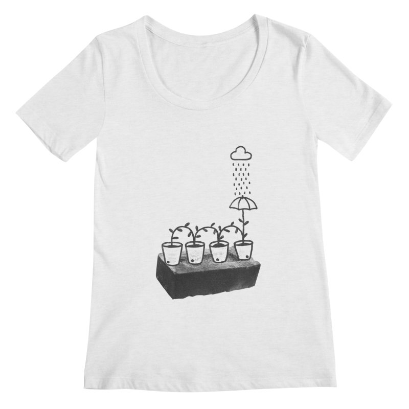 pots Women's Scoopneck by enginoztekin's Artist Shop