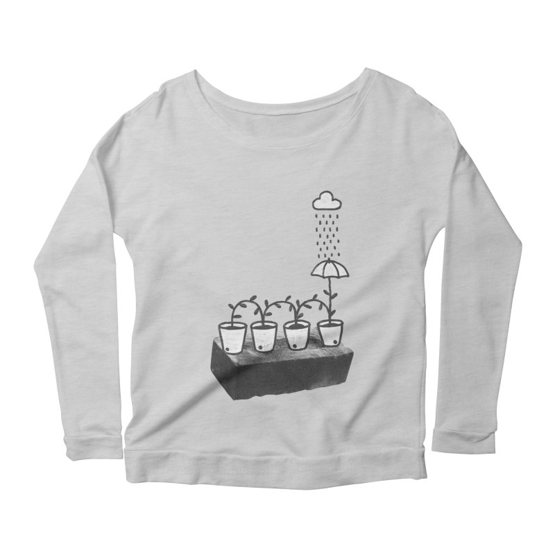 pots Women's Longsleeve Scoopneck  by enginoztekin's Artist Shop