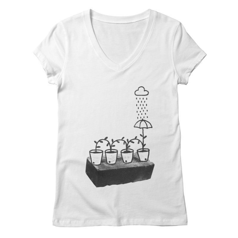 pots Women's V-Neck by enginoztekin's Artist Shop
