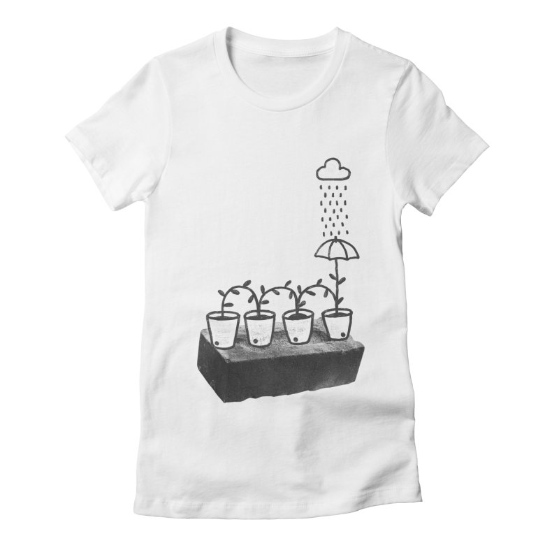 pots Women's Fitted T-Shirt by enginoztekin's Artist Shop