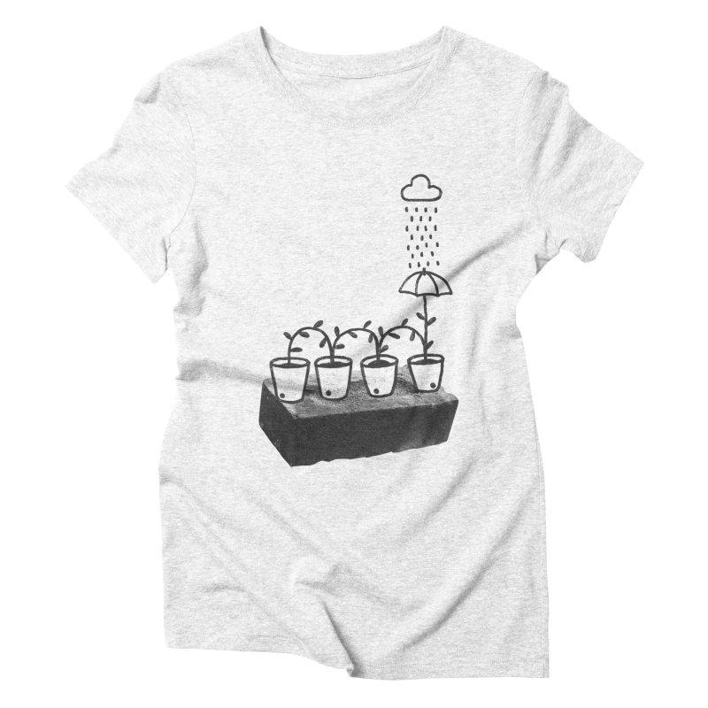 pots Women's Triblend T-shirt by enginoztekin's Artist Shop