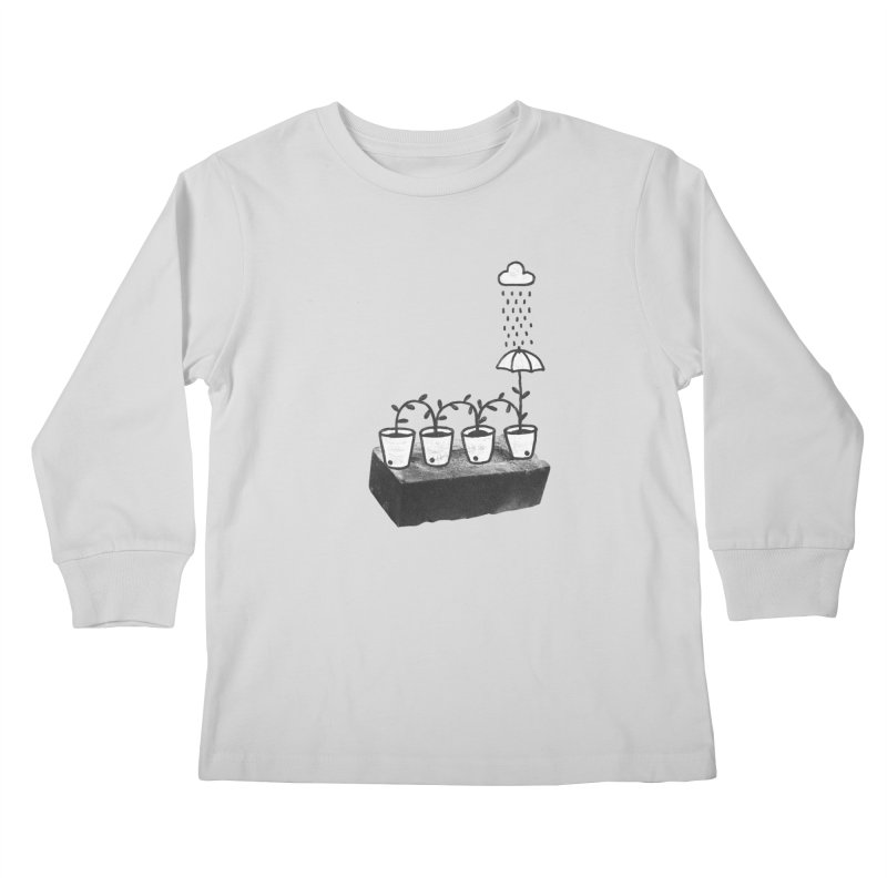 pots Kids Longsleeve T-Shirt by enginoztekin's Artist Shop