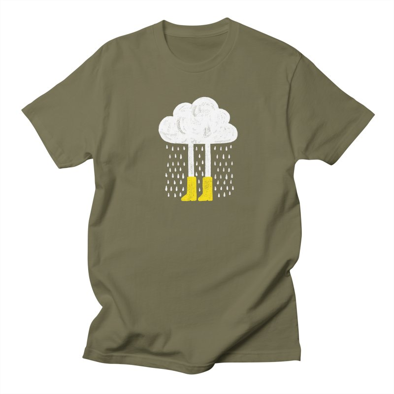 rainy Men's T-Shirt by enginoztekin's Artist Shop