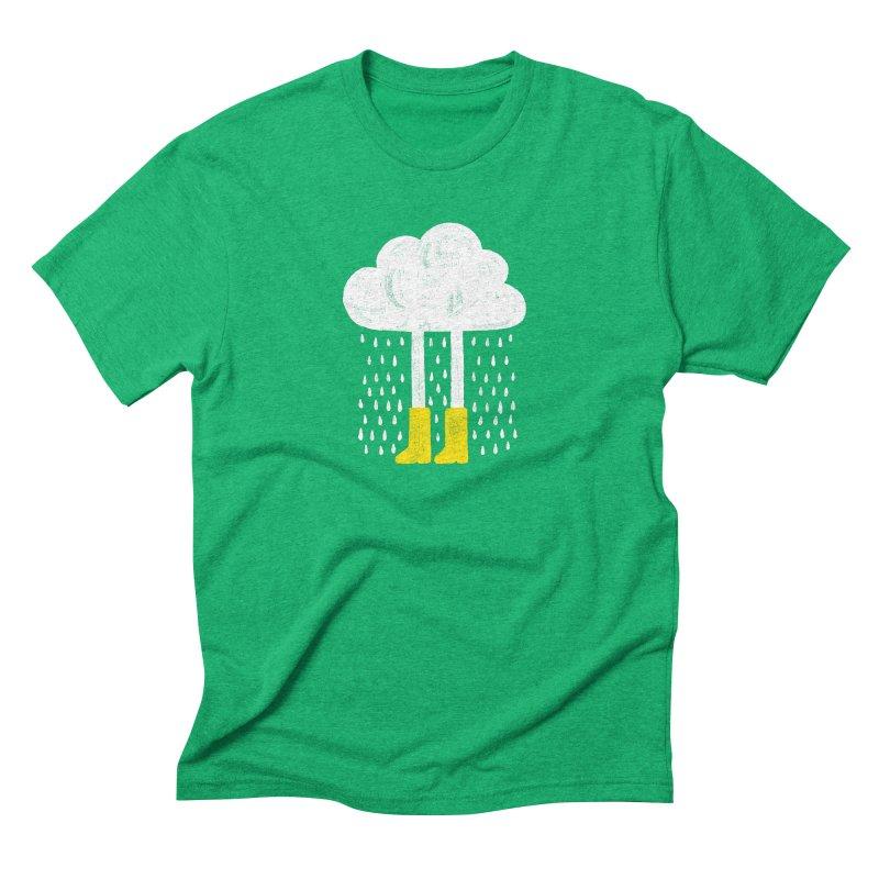 rainy Men's Triblend T-shirt by enginoztekin's Artist Shop