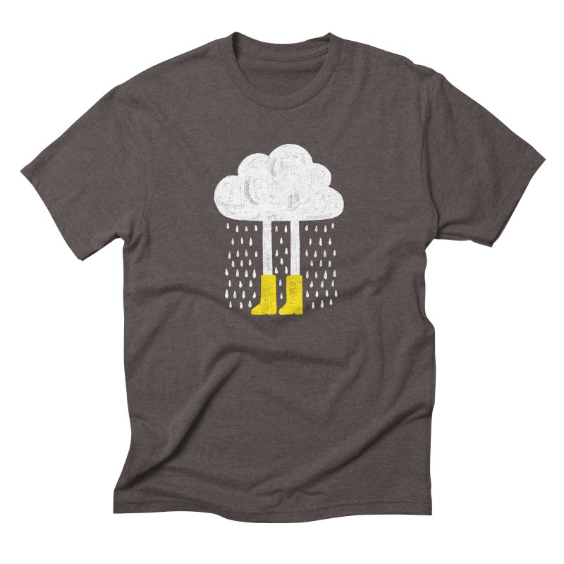 rainy Men's Triblend T-shirt by enginoztekin's Artist Shop