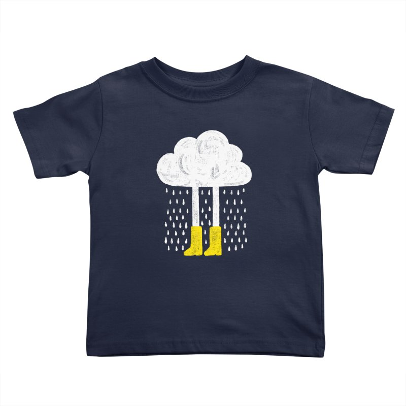 rainy Kids Toddler T-Shirt by enginoztekin's Artist Shop