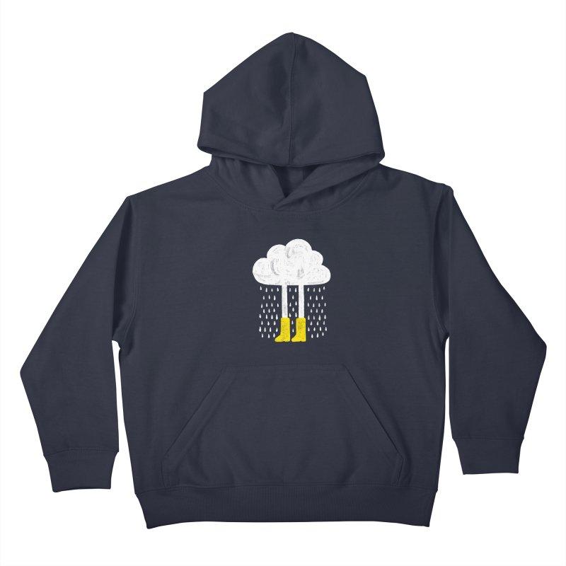 rainy Kids Pullover Hoody by enginoztekin's Artist Shop