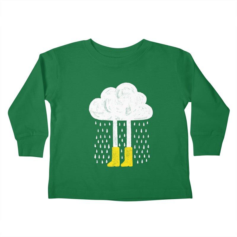 rainy Kids Toddler Longsleeve T-Shirt by enginoztekin's Artist Shop