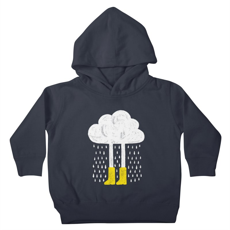 rainy Kids Toddler Pullover Hoody by enginoztekin's Artist Shop