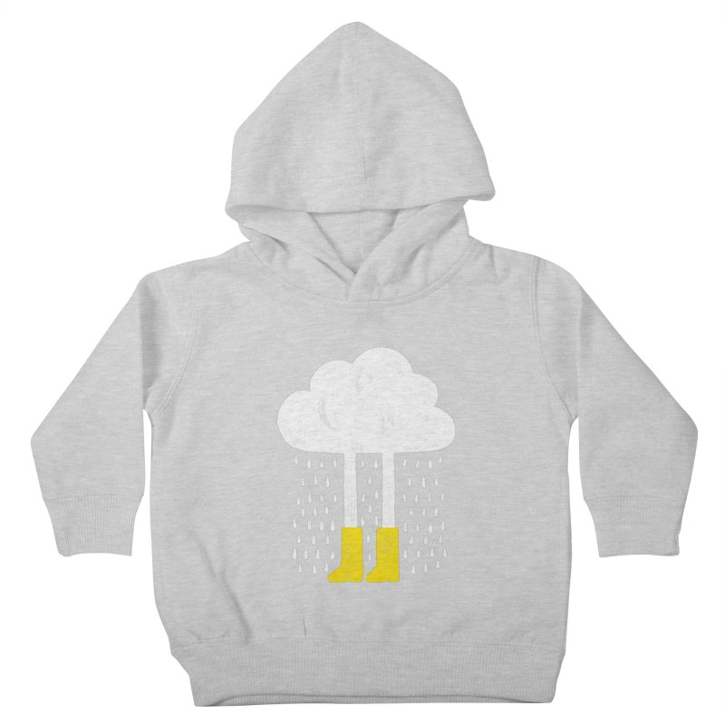 rainy Kids Toddler Pullover Hoody by enginoztekin's Artist Shop