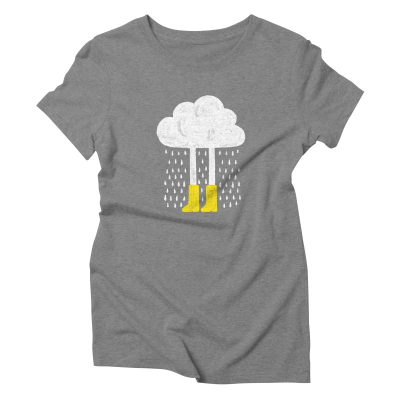 rainy Women's Triblend T-shirt by enginoztekin's Artist Shop