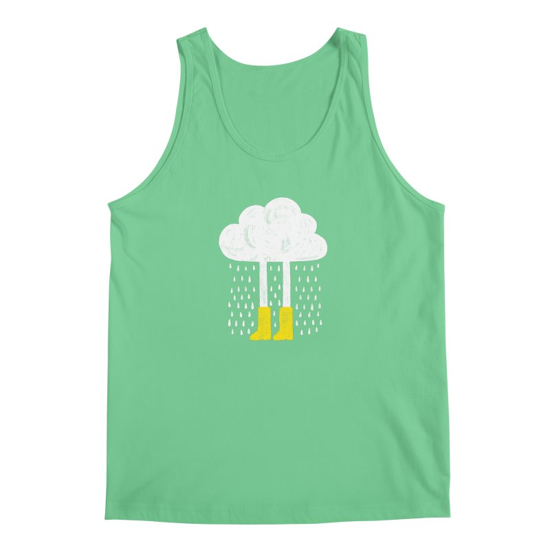 rainy Men's Tank by enginoztekin's Artist Shop