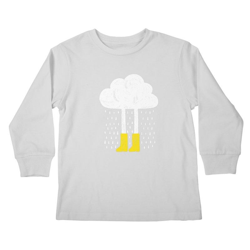 rainy Kids Longsleeve T-Shirt by enginoztekin's Artist Shop