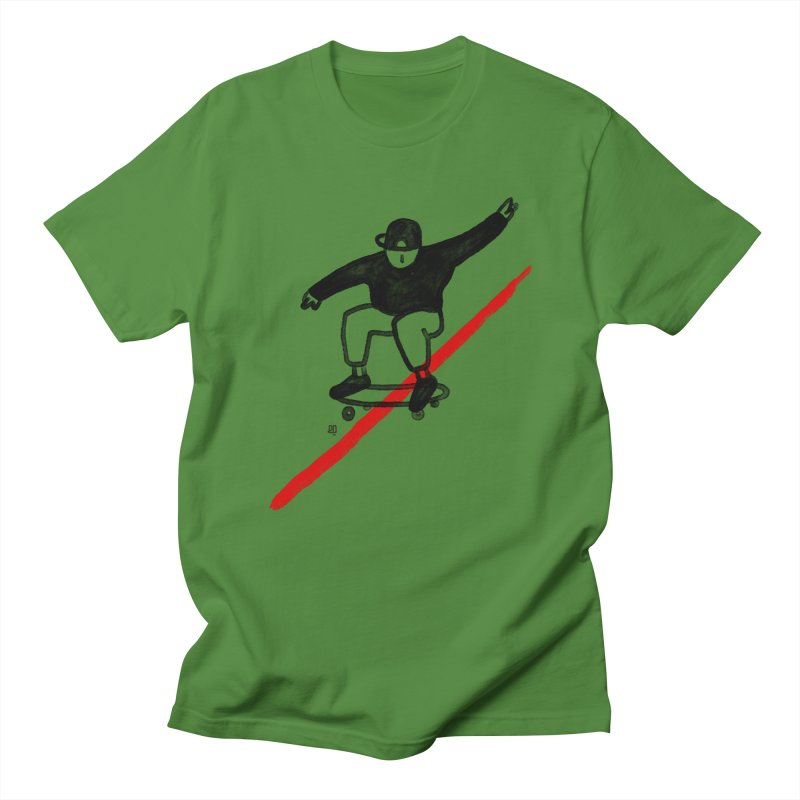 red line Men's T-Shirt by enginoztekin's Artist Shop