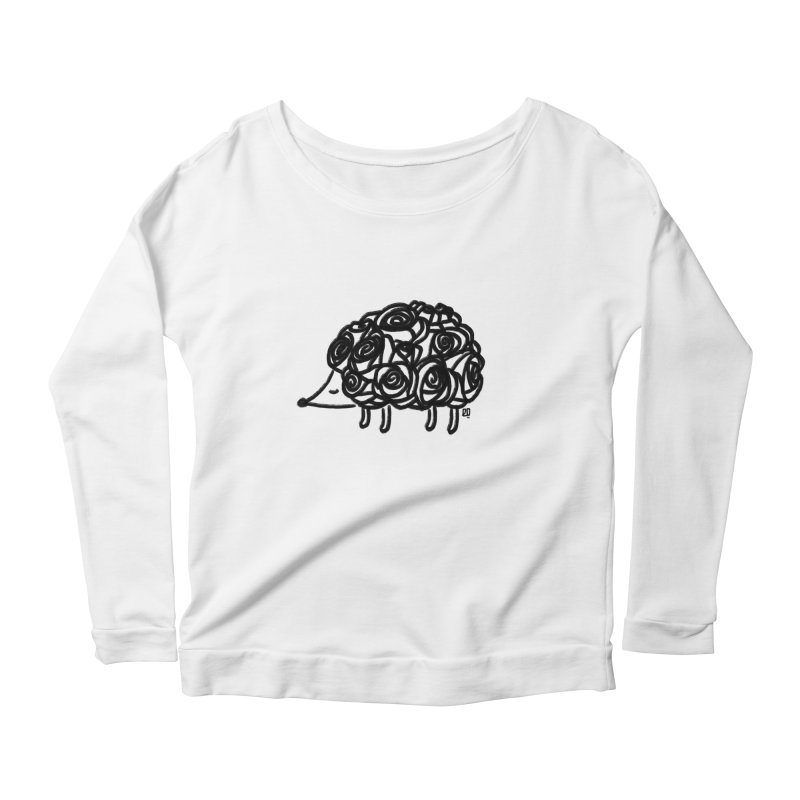 lover Women's Longsleeve Scoopneck  by enginoztekin's Artist Shop