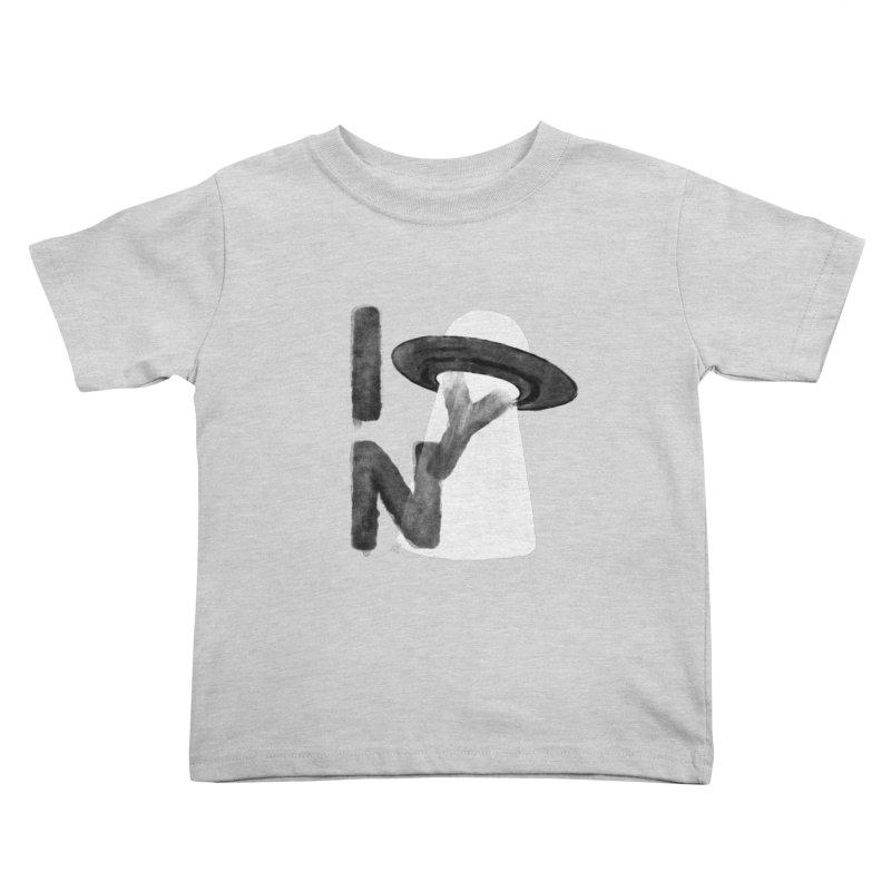 a tourist from somewhere Kids Toddler T-Shirt by enginoztekin's Artist Shop