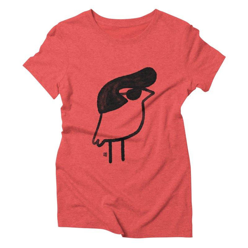 always on my mind Women's Triblend T-Shirt by enginoztekin's Artist Shop