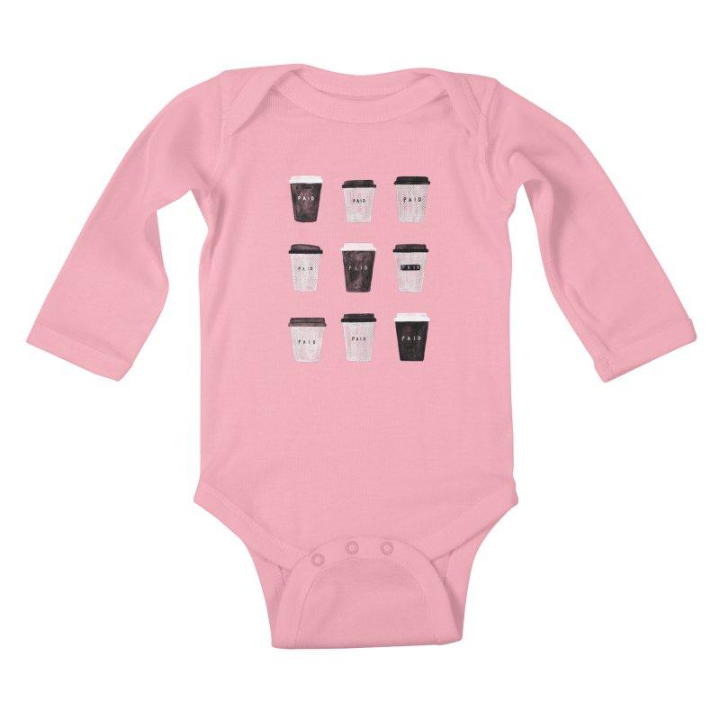 deserved Kids Baby Longsleeve Bodysuit by enginoztekin's Artist Shop
