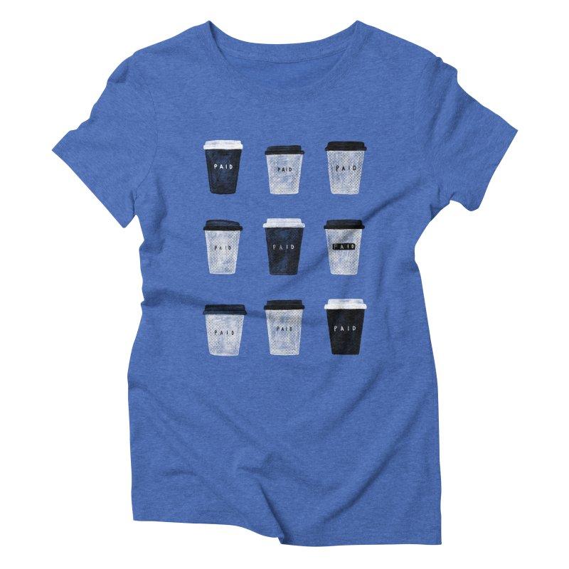 deserved Women's Triblend T-Shirt by enginoztekin's Artist Shop