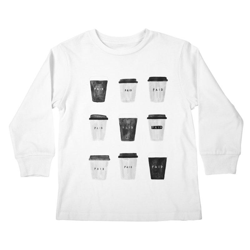 deserved Kids Longsleeve T-Shirt by enginoztekin's Artist Shop