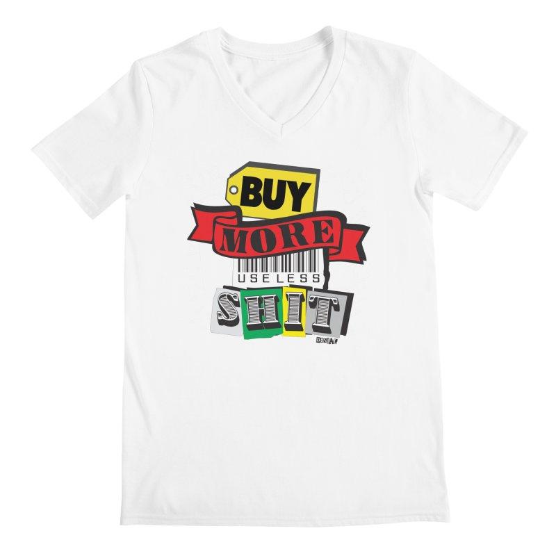 Buy More Men's V-Neck by Enjoy Denial