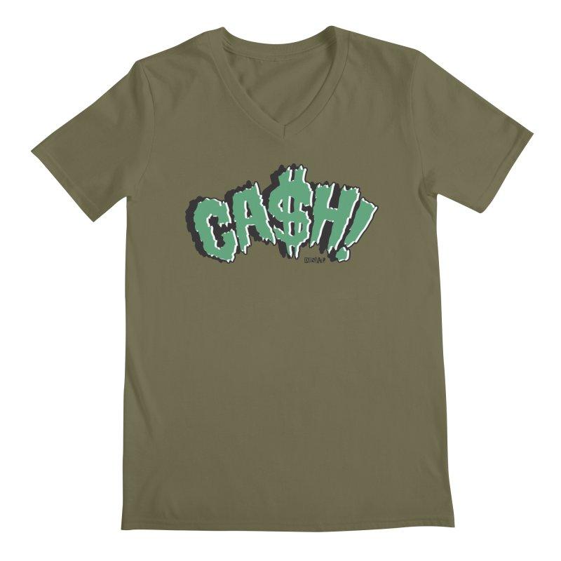 CASH! Men's V-Neck by Enjoy Denial