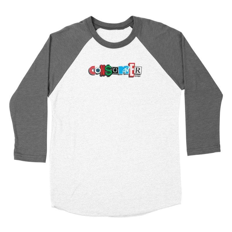 Consumer Women's Longsleeve T-Shirt by Enjoy Denial