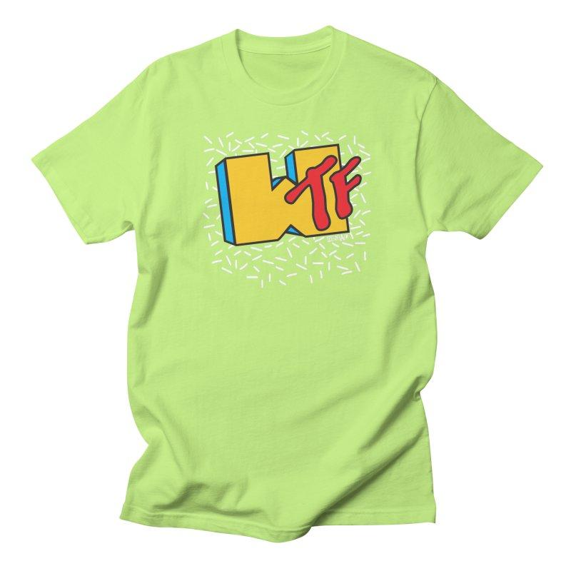 WTF Men's T-Shirt by Enjoy Denial