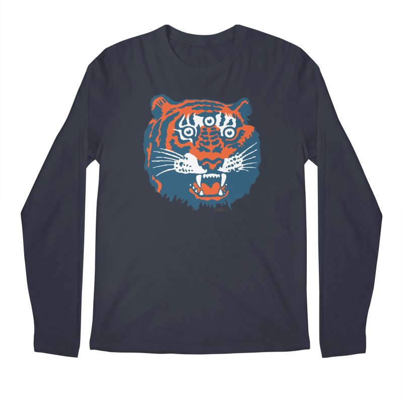 Tiger Men's Longsleeve T-Shirt by Enjoy Denial