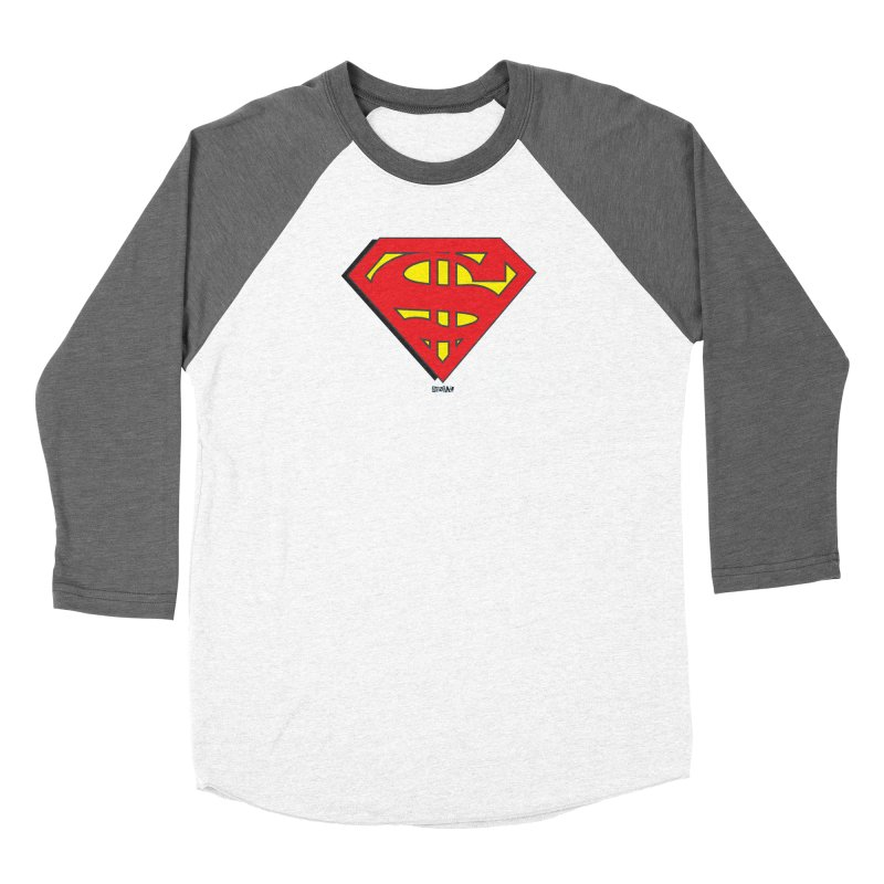 Superman Women's Longsleeve T-Shirt by Enjoy Denial
