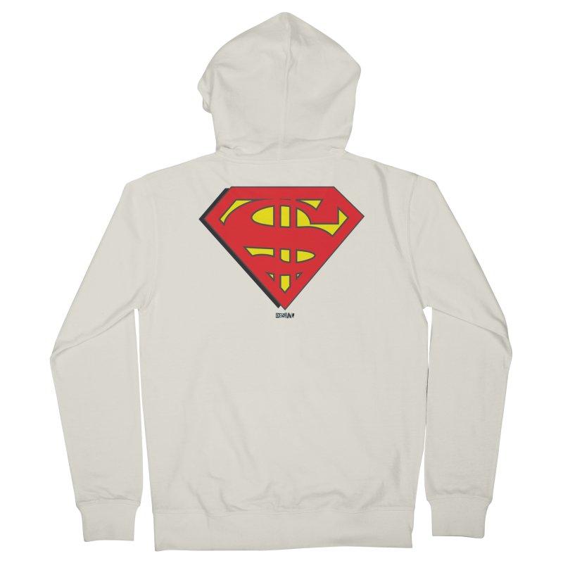 Superman Men's Zip-Up Hoody by Enjoy Denial
