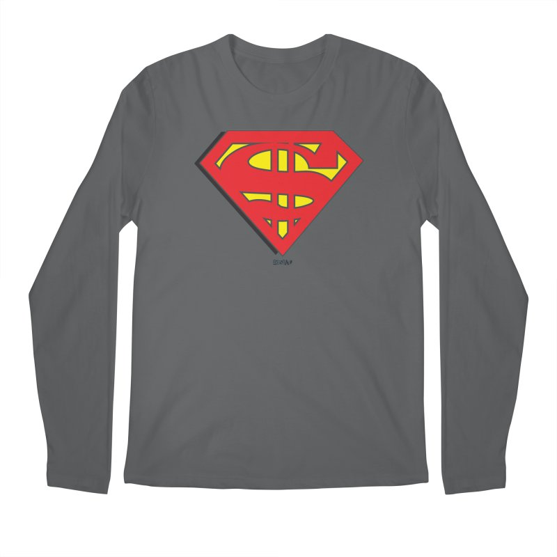 Superman Men's Longsleeve T-Shirt by Enjoy Denial
