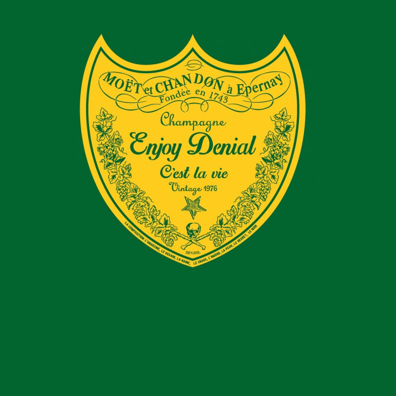 Shield Men's V-Neck by Enjoy Denial