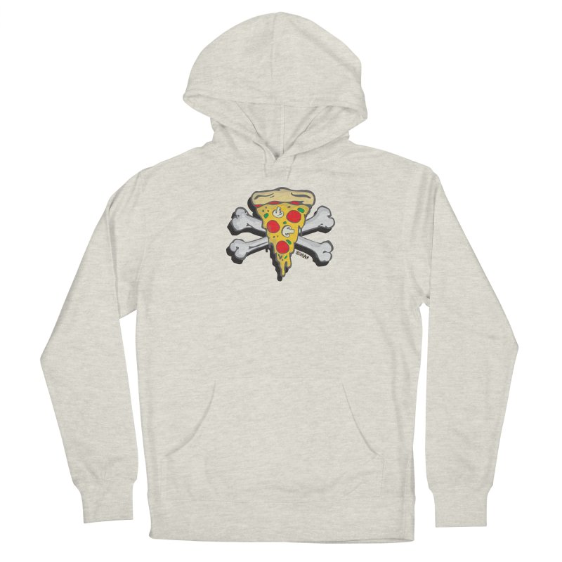 Pizza Men's Pullover Hoody by Enjoy Denial