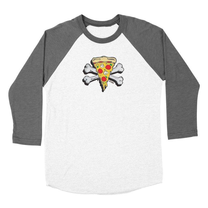 Pizza Women's Longsleeve T-Shirt by Enjoy Denial