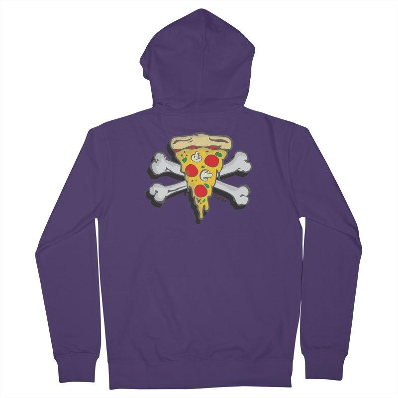 Pizza Women's Zip-Up Hoody by Enjoy Denial