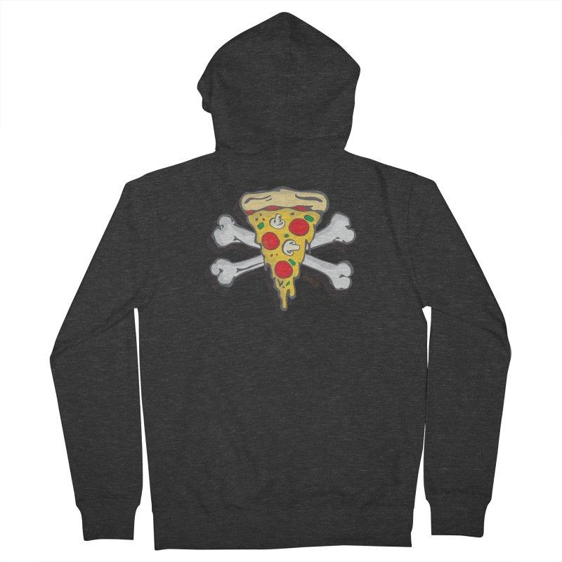 Pizza Men's Zip-Up Hoody by Enjoy Denial