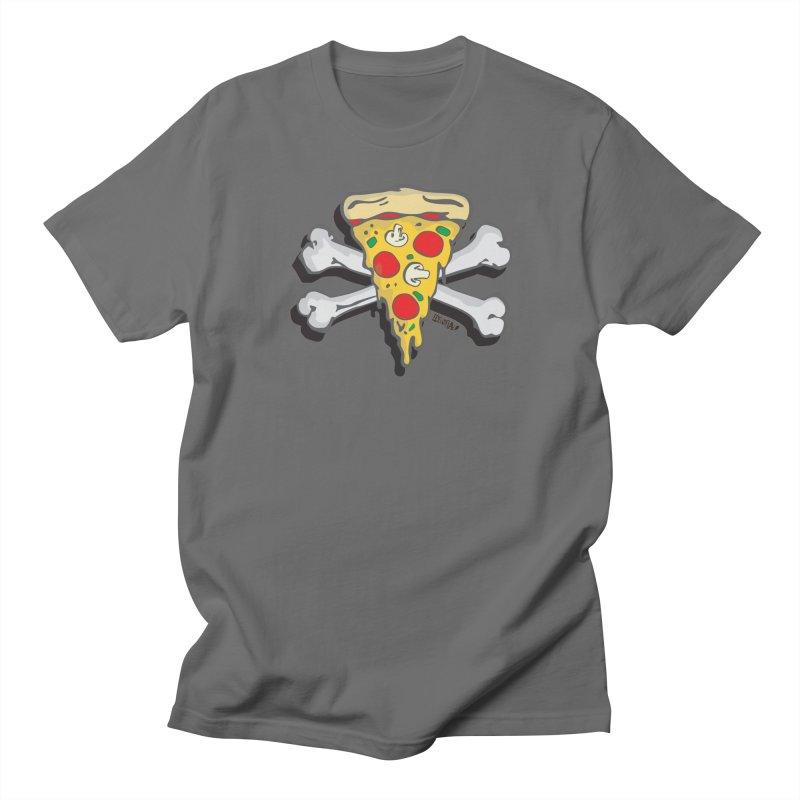 Pizza Men's T-Shirt by Enjoy Denial