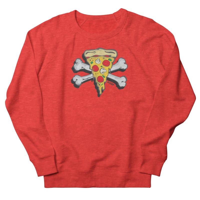Pizza Women's Sweatshirt by Enjoy Denial